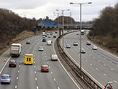 M60, Irwell Valley approaching Junction 17 - Geograph - 1738786.jpg