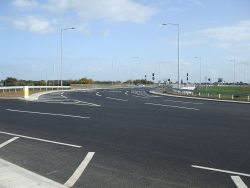 A13 Manorway Junction east side look south Oct 2013.JPG