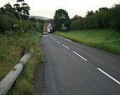 Entering Beaminster on the B3163 - Geograph - 529284.jpg