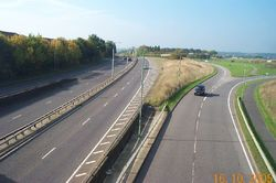 Leavesden Green- A41 North Western Avenue - Geograph - 66236.jpg