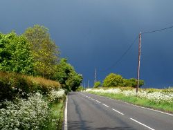 Heavy clouds, sunshine and showers, Potters Bar - Geograph - 4486191.jpg