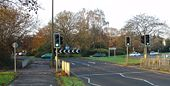 Cheals Roundabout. Junction of A23 and A2220, Crawley West Sussex - Geograph - 88966.jpg