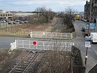 Leith, Marine Esplanade level crossing.jpg