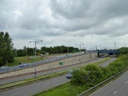 Stoke-on-Trent- complex of roads at Sideway - Geograph - 4992383.jpg