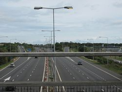 M20 Motorway Junction 11 - Geograph - 2079511.jpg