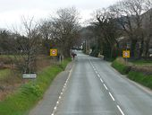 The A4 approaching Ballaugh - Geograph - 1883679.jpg