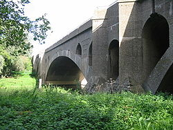A1 Bridge Over the Nene at Wansford - Geograph - 255904.jpg