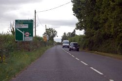 A39 approaching Two Headed Man junction - Geograph - 4119881.jpg