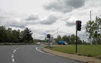Northfield roundabout near Junction 14 M1 motorway - Geograph - 2476121.jpg