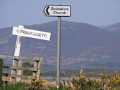 Signs By Road - Geograph - 801042.jpg