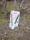 Milestone on old A9 between Newtonmore and Dalwhinnie (4 and 6) 3 - Coppermine - 11219.JPG