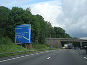 Approaching M6 junction yuk! - Geograph - 857140.jpg