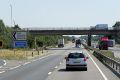 Eastbound A14, Exit to Cambridge Services - Geograph - 3825196.jpg