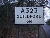 Old sign in Normandy, Surrey - Coppermine - 21413.JPG