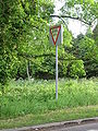 Aberdeenshire Give Way Sign - Coppermine - 13029.JPG