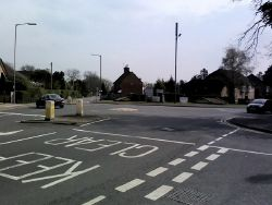Boot and Slipper roundabout (C) Simon Hollett - Geograph - 3917282.jpg