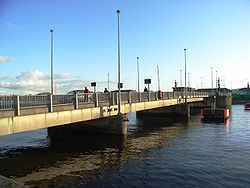 East Link Toll-Lifting Bridge, Dublin - Geograph - 1670701.jpg