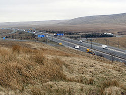 M62 Rocking Stones Junction 22 - Geograph - 1802842.jpg