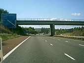 M74 J22 sign in England. - Coppermine - 3518.JPG