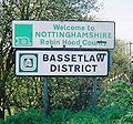 A631 - Welcome to Nottinghamshire Sign - Coppermine - 21186.jpg