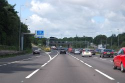 M42 approaching junction 5 - Geograph - 4599676.jpg