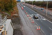 The M2 (northbound) at Glengormley - Geograph - 596337.jpg
