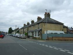 Houses on New Road, Chatteris - Geograph - 5497107.jpg