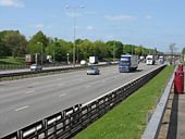 M1 at Leicester Forest East Services - Geograph - 1292793.jpg