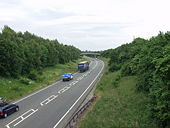 The A5 at West Felton - Geograph - 188809.jpg
