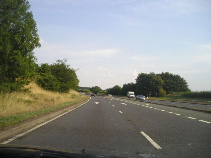 A491 road