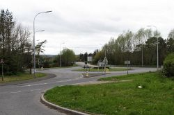 The Damolly Roundabout from Ashgrove Road - Geograph - 2891080.jpg