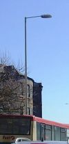 Lamppost on the Square, Barnstaple. - Coppermine - 5373.JPG