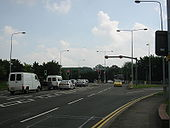 A15 Lincoln, Canwick Road Tidal Flow - Coppermine - 12572.JPG
