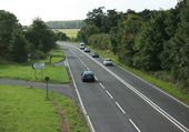 Junction on the A36 - Geograph - 954790.jpg