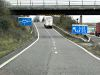 Southbound M5, Exit Sliproad at Junction... (C) David Dixon - Geograph - 3801845.jpg