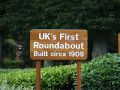 Uks First Roundabout Sign - Geograph - 531294.jpg