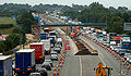 M6 Sandbach Roadworks - queues in both directions - Coppermine - 3413.jpg