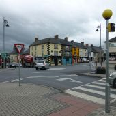 The main crossroads in Bunclody - Geograph - 3516602.jpg