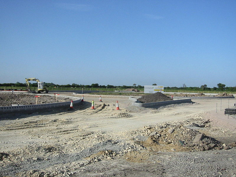 File:A158 Burgh Bypass, Lincs Bypass New East Side Roundabout - Coppermine - 12876.JPG