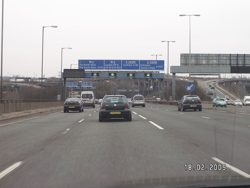 File:A38(M) at Spaghetti Junction.jpg
