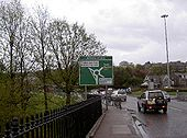 A90 Bridge Of Dee Roundabout Sign - Coppermine - 2068.jpg