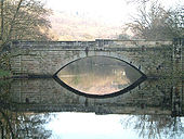 New Bridge, Calver, Derbyshire - Geograph - 63898.jpg