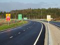 A90 AWPR - Cleanhill Roundabout Northbound approach.jpg