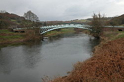 Bigsweir Bridge and the River Wye - Geograph - 86306.jpg