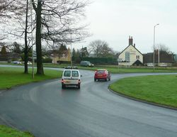 A30-A350 roundabout at Shaftesbury - Geograph - 1061996.jpg