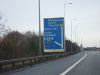 Sign and sliproad, M5 northbound at junction 17 - Geograph - 2214730.jpg