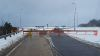 A9 Navidale Roundabout - Police opening snow gates.jpg