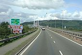 A9 Route confirmation sign - Coppermine - 20149.jpg