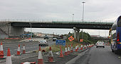 End of the M1 at the M50 interchange - Coppermine - 23175.jpg
