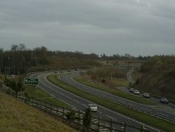 The Hemel Hempstead junction on the A41 trunk road - Geograph - 752311.jpg